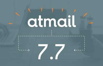 Welcome atmail 7.7
