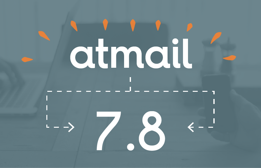 Welcome atmail 7.8