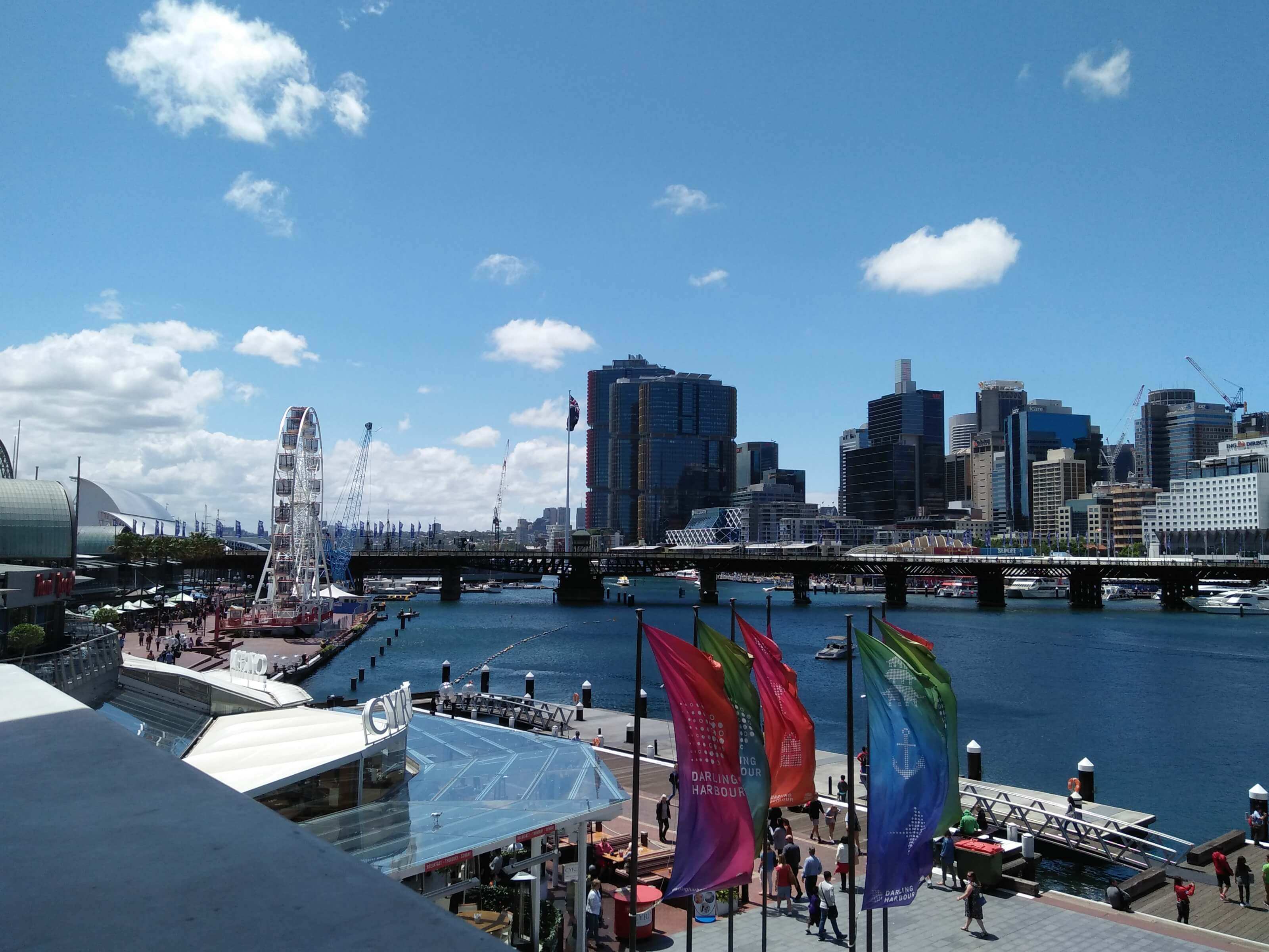 Just another beautiful day in Sydney @ OpenStack Summit Sydney - Copyright atmail Pty Ltd 2017