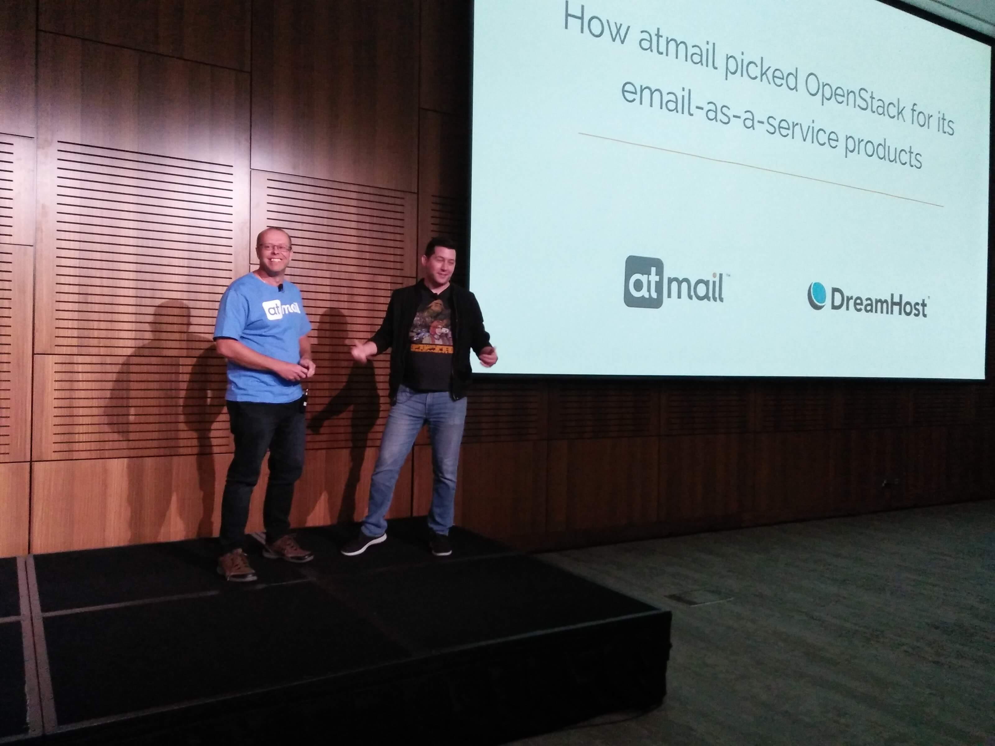 atmail and DreamHost - OpenStack Summit Sydney - Copyright atmail Pty Ltd 2017