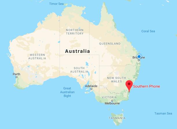 Southern Phone in Australia