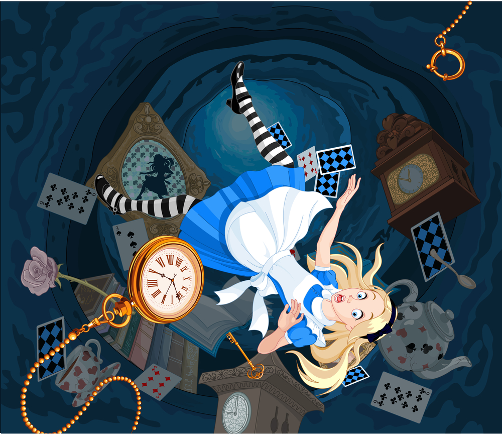 Alice in Wonderland - Rabbit Hole - Privacy