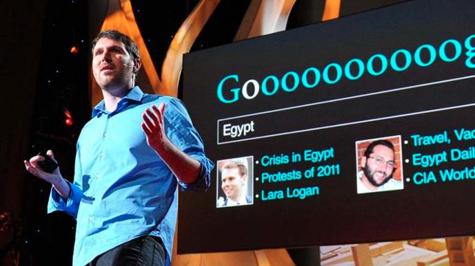 Eli Pariser: Beware Online Filter Bubbles - Image credit: Ted.com