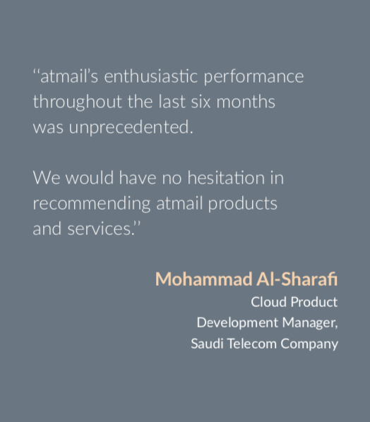 atmail customer reference, atmail solutions guide