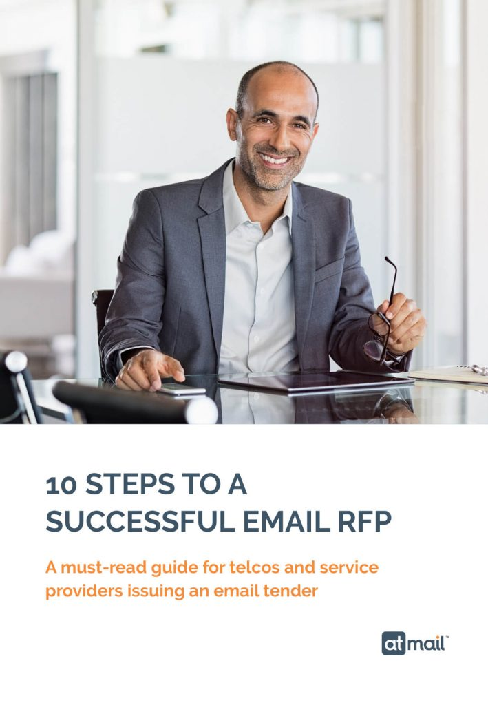 10 Steps to a Successful Email RFP - Cover