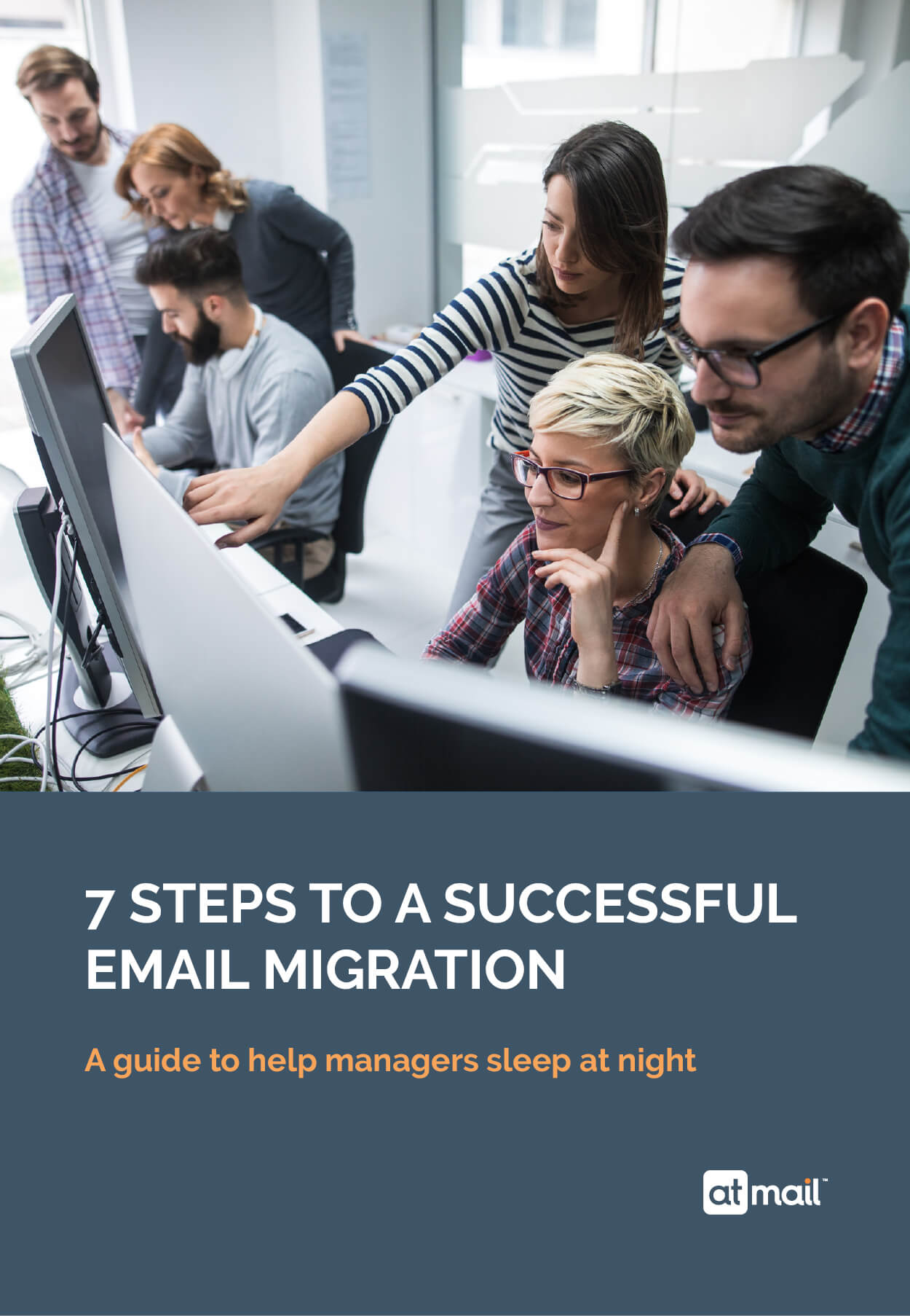 7 Steps to a Successful Email Migration - Cover
