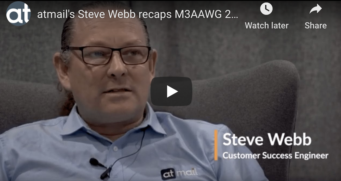 Steve Webb - atmail email experts - M3AAWG 2020 San Francisco - what is M3AAWG?