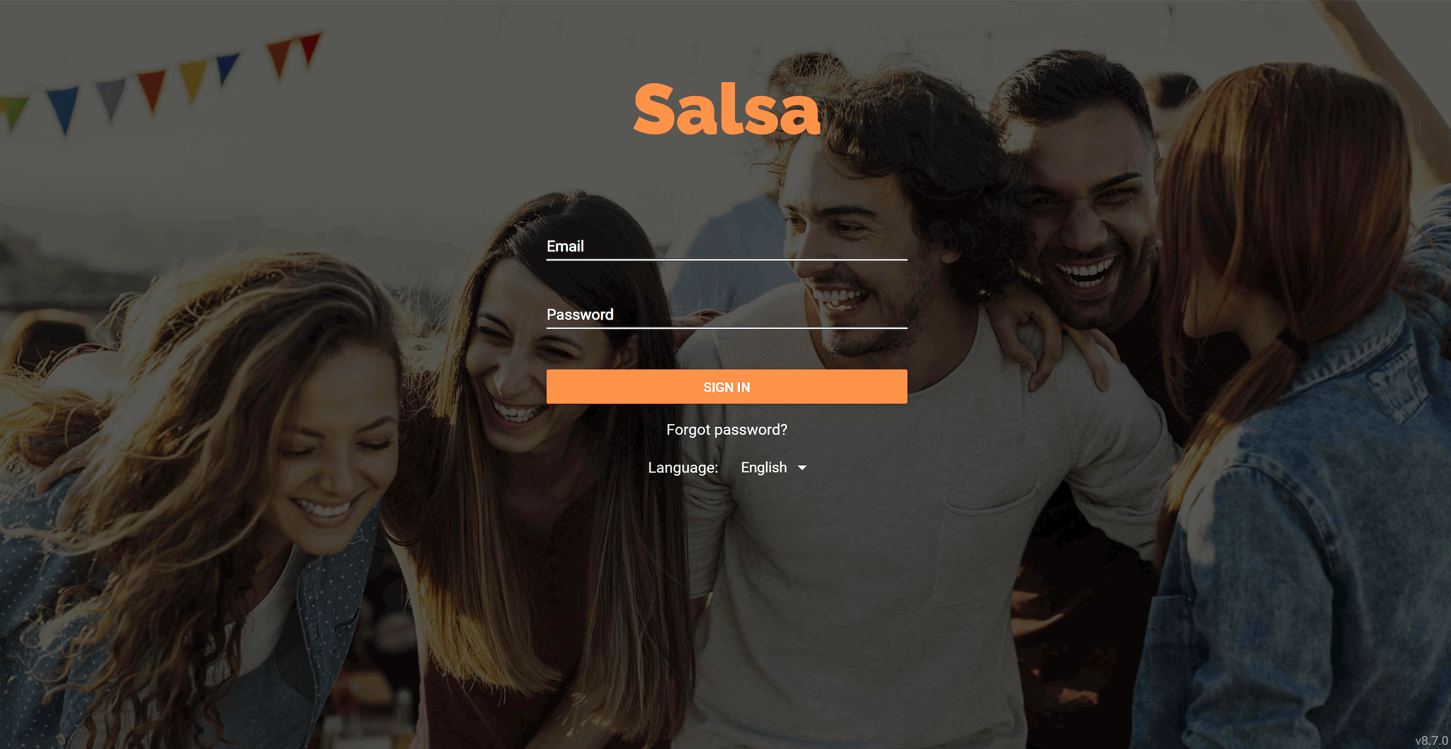 Salsa - atmail white label email example