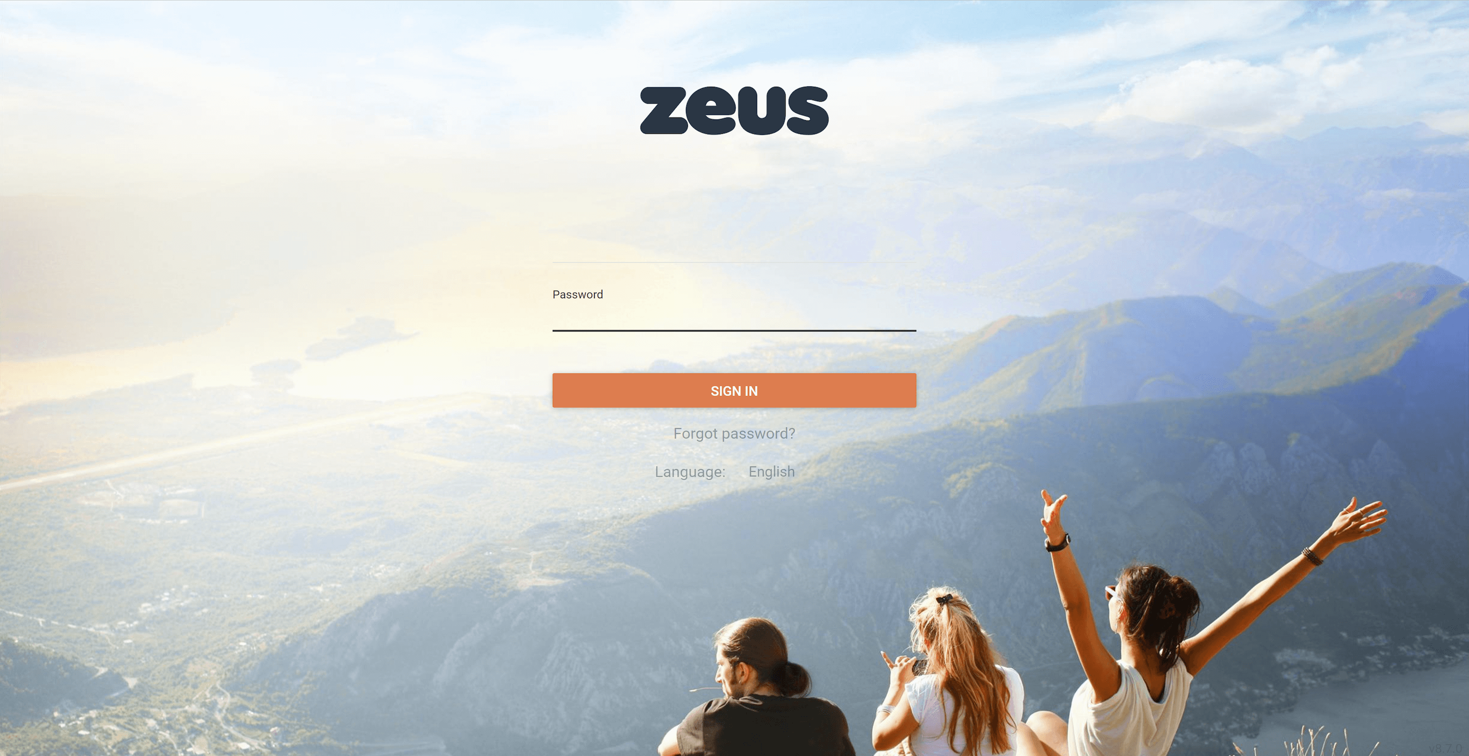 Zeus - atmail white label email example