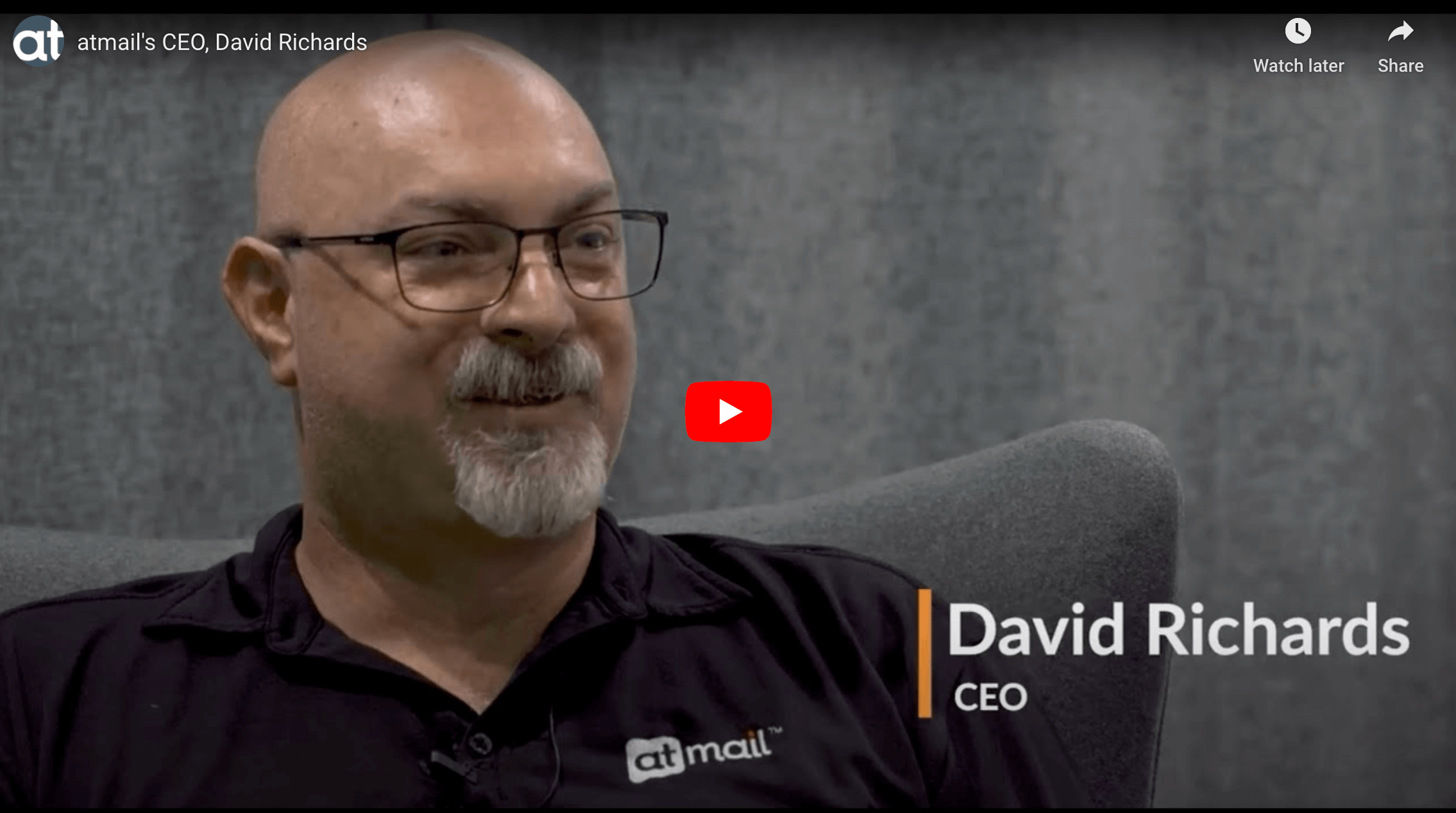 David Richards atmail CEO - atmail email hosting experts - telco email hosting - dave richards
