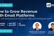 How to Grow Revenue with Email Platforms [Live Webinars]