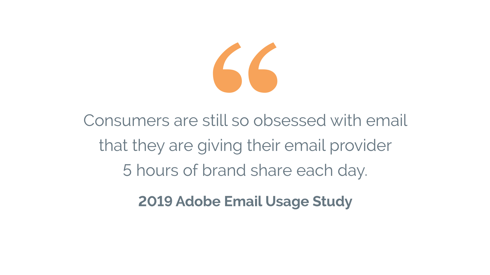 Adobe Email Usage Survey- atmail visual