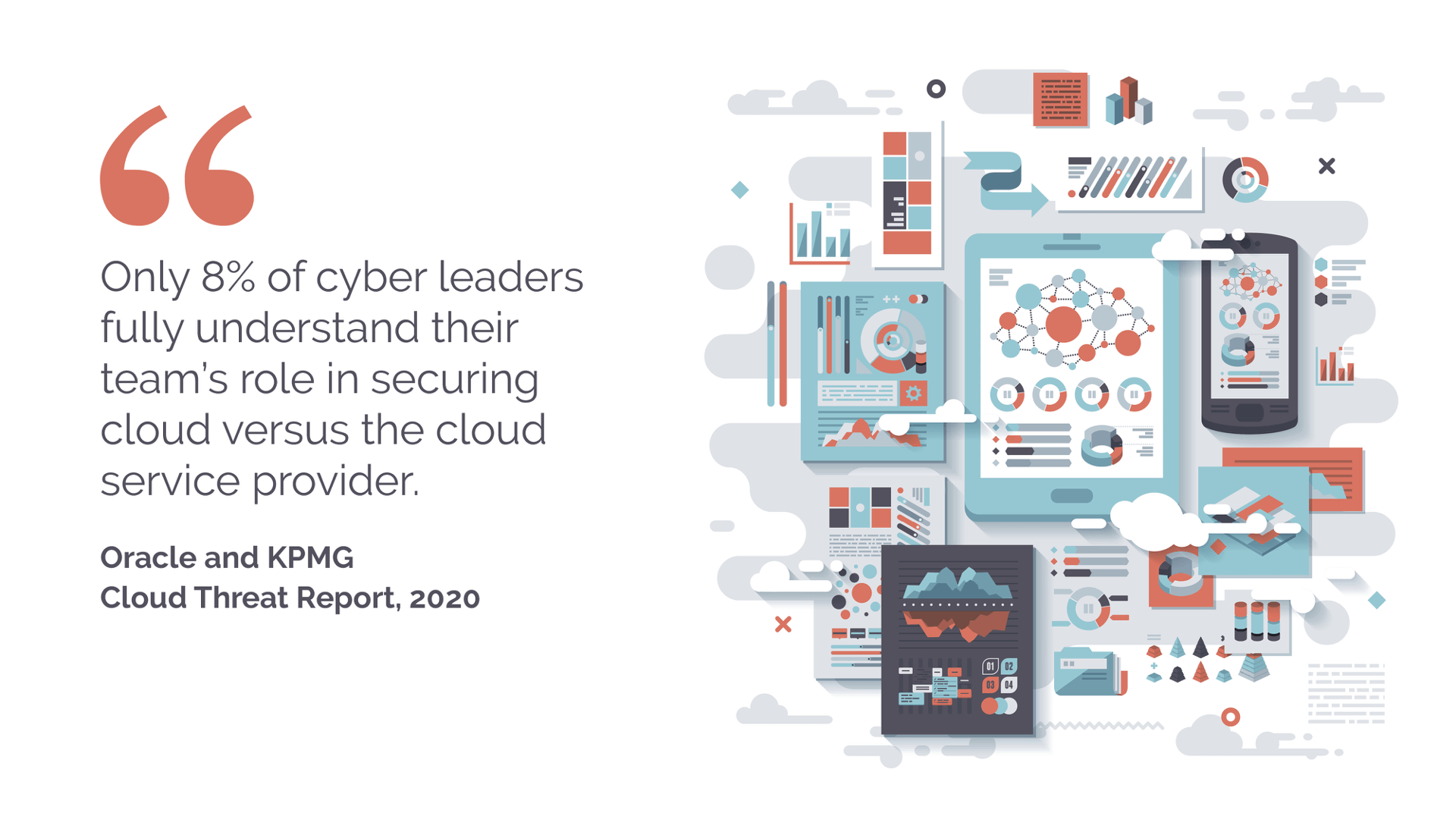 Oracle KPMG Threat Report - 8 percent cyber leaders - cloud security