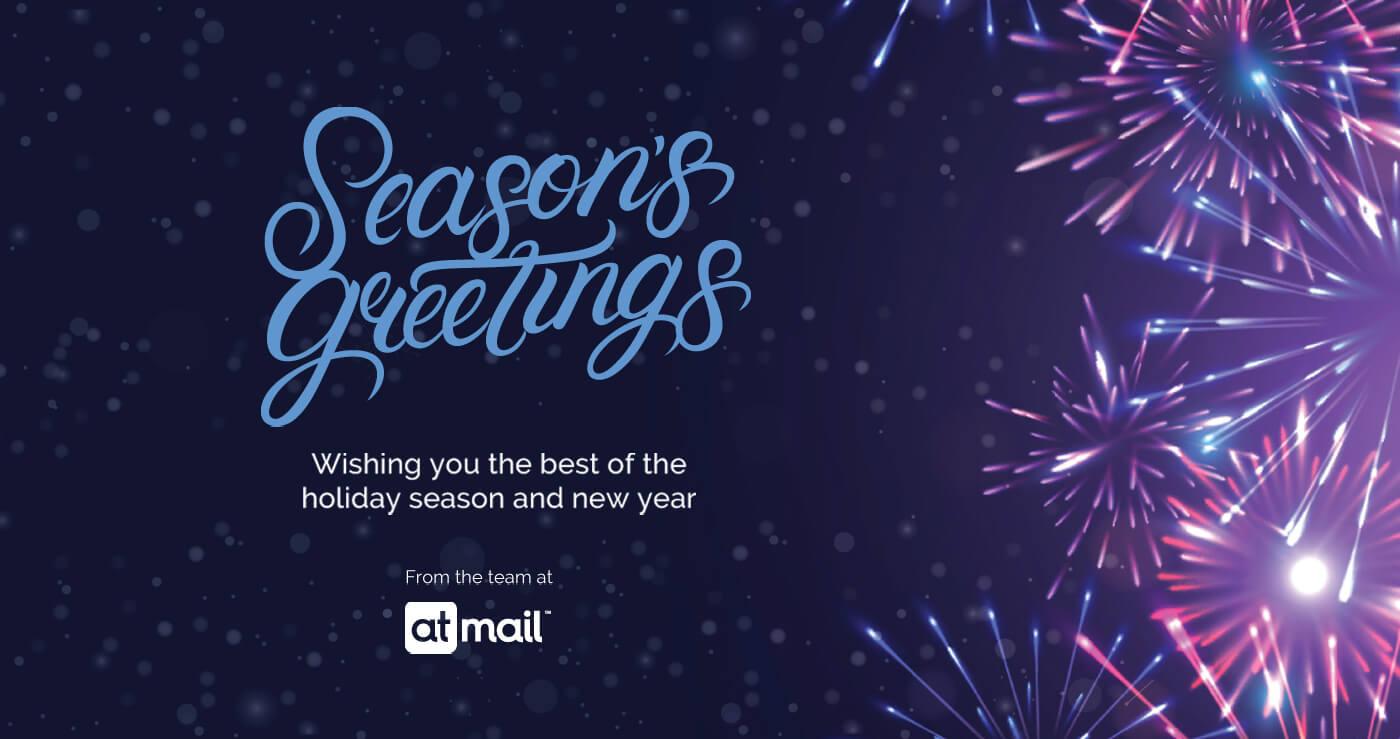 Seasons Greetings - atmail cloud email hosting experts