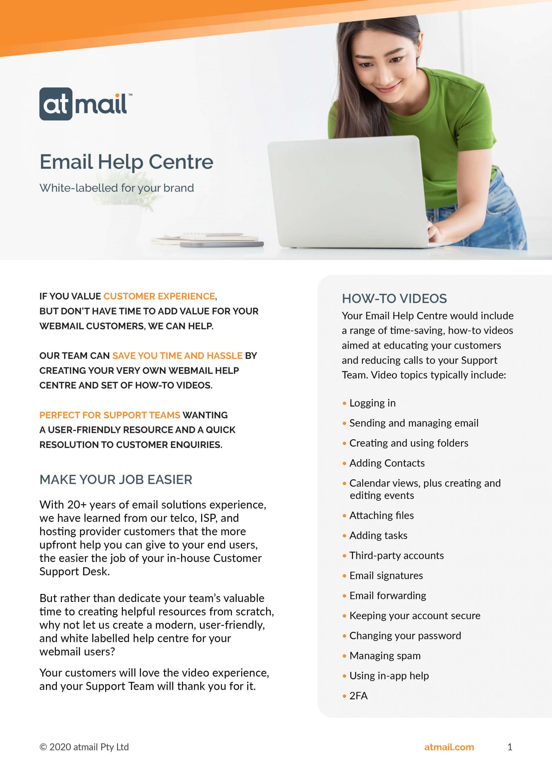 Email Help Centre